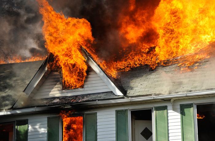 A TERRIFYING HOUSE FIRE